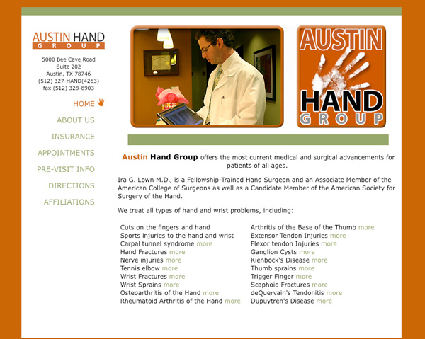 austin hand group screenshot